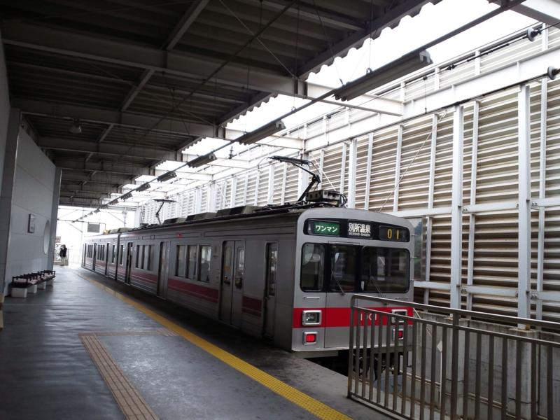 上田駅ホーム