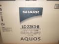 [テレビ][AQUOS][アクオス][シャープ]LC-22K3-B
