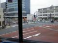 [東京][東京スカイツリー]マクドナルド押上駅前店2階席から