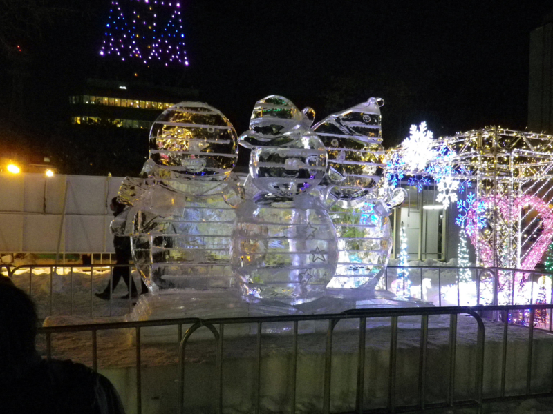 道新 氷の広場