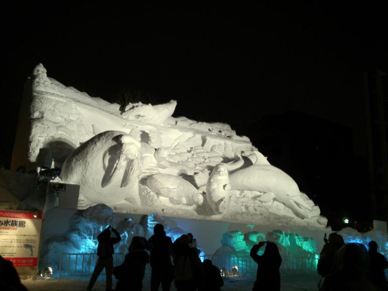 STV・よみうり広場 雪の水族館