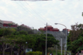 [首里城]遠方に首里城