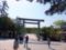 宇治橋と鳥居