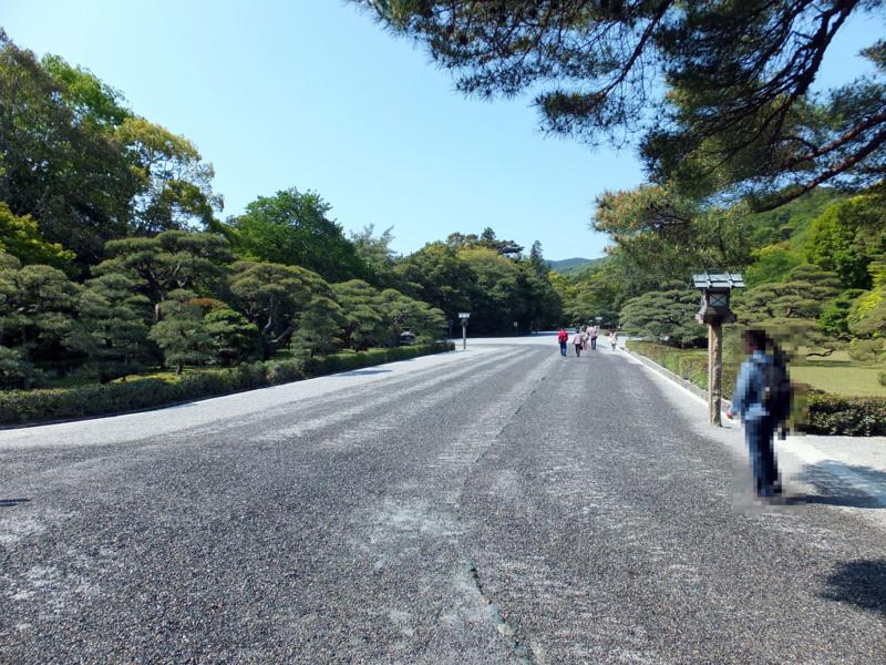 内宮の参道(神苑)