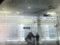 高崎駅の外も雪