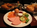 Fassbenderでオサレな朝食を