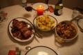 ドイツの一般家庭料理クリスマス編(伝統あまり関係ない