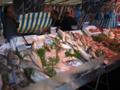 パリの朝市 新鮮魚介類