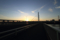 朝陽を迎える
