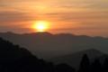 [大山千枚田]sunrise