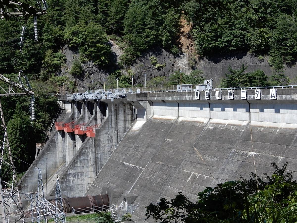 馬瀬川第二ダム
