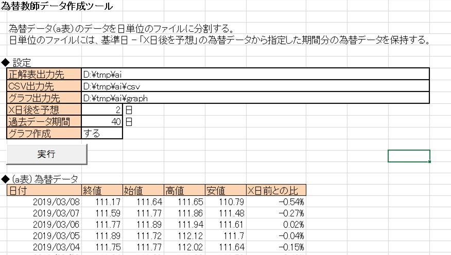 FX教師データ作成ツール