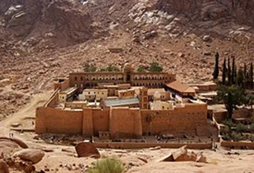 エジプトの世界遺産・聖カトリーナ修道院
