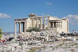 ギリシャの世界遺産・エレクテイオン
