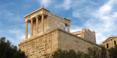 ギリシャの世界遺産・アテナ・ニケ神殿