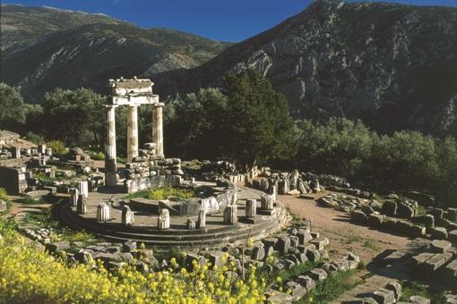ギリシャの世界遺産・デルフィ遺跡