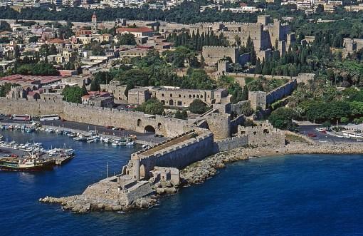ギリシャの世界遺産・ロードス島