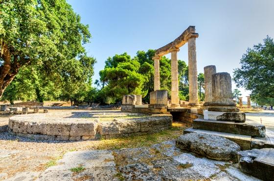 ギリシャの世界遺産・オリンピア遺跡