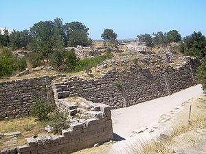 トルコの世界遺産・トロイの古代遺跡