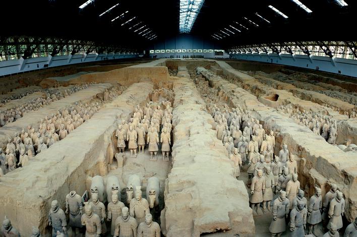 中国の世界遺産・秦の始皇帝陵と兵馬俑坑