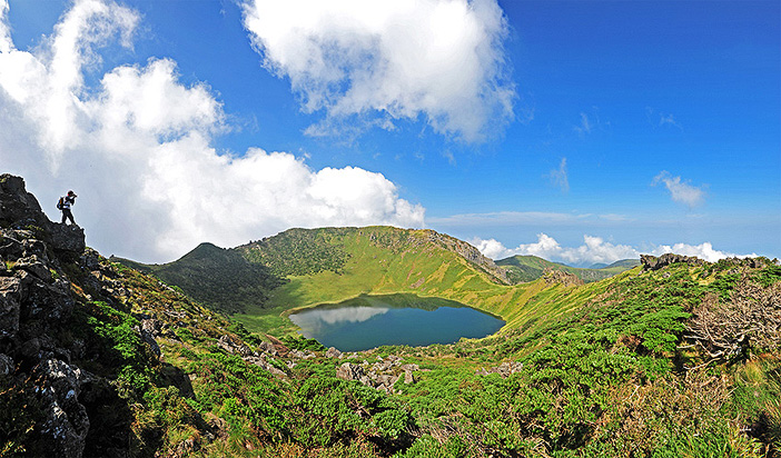 韓国の世界遺産・城山日出峰