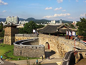 韓国の世界遺産・水原華城