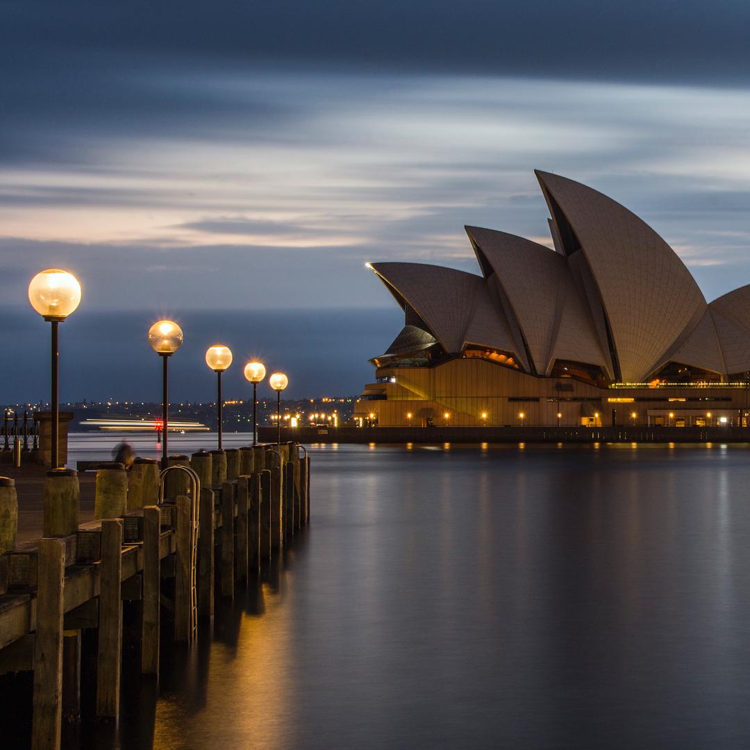 オーストラリアの世界遺産・シドニーオペラハウス