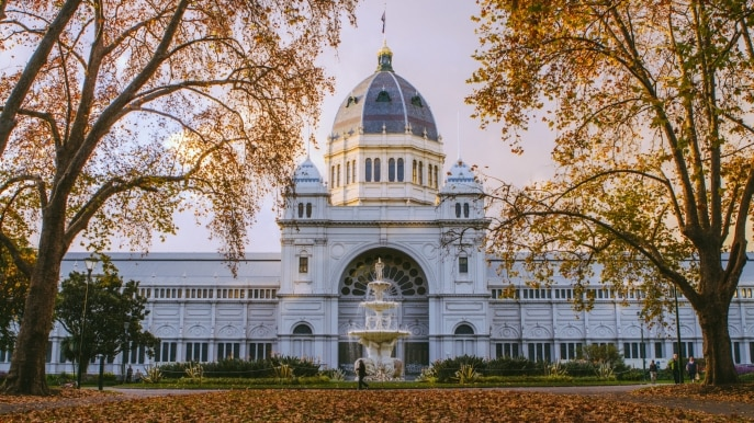 オーストラリアの世界遺産・王立展示館とカールトン庭園