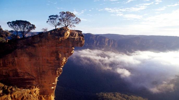 オーストラリアの世界遺産・グレーター・ブルー・マウンテンズ地域