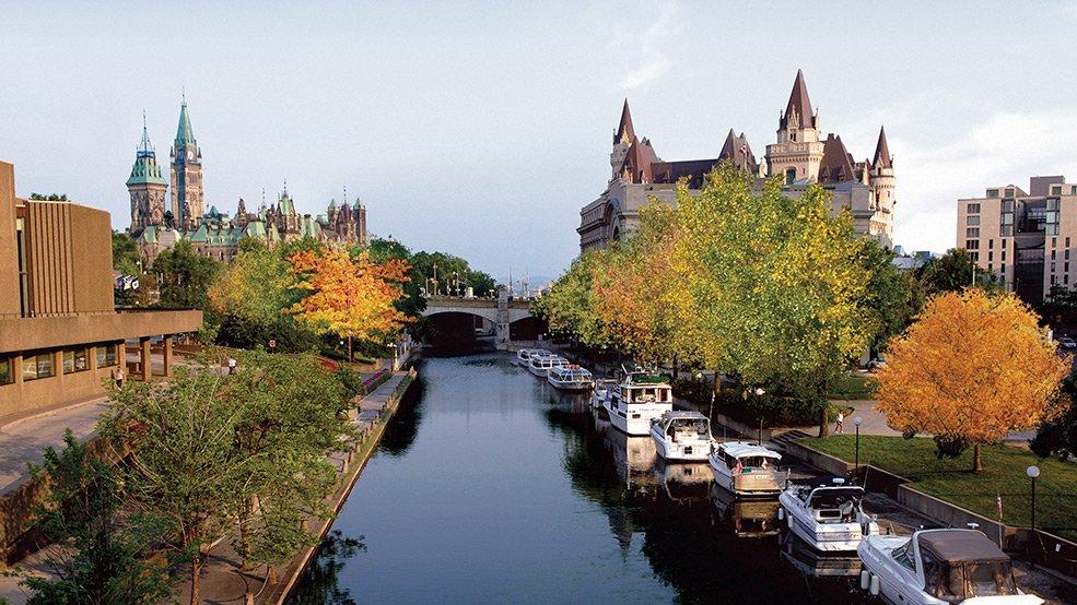 カナダの世界遺産・リドー運河