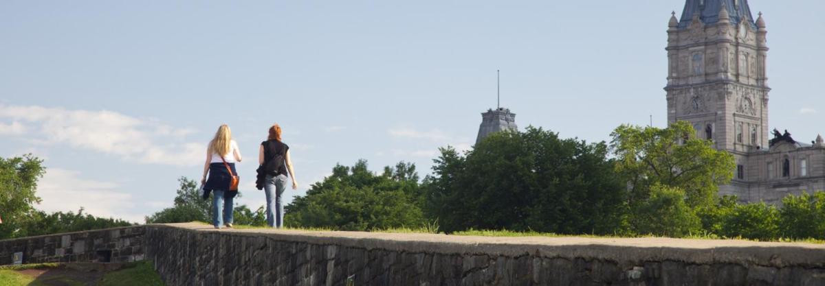 カナダの世界遺産・ケベック・シティの要塞