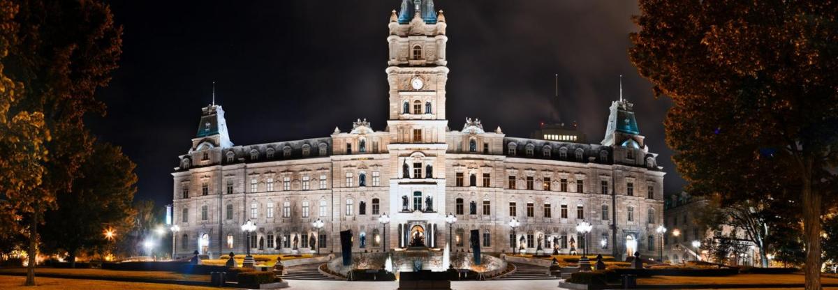 カナダの世界遺産・州議事堂