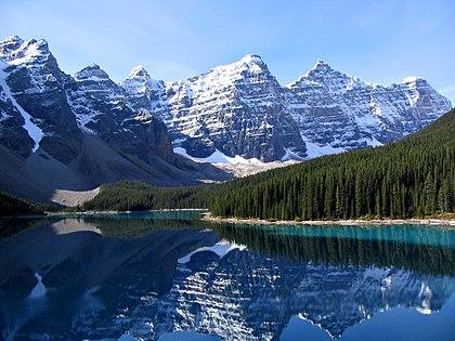 カナダの世界遺産・カナディアン ロッキー山脈自然公園群