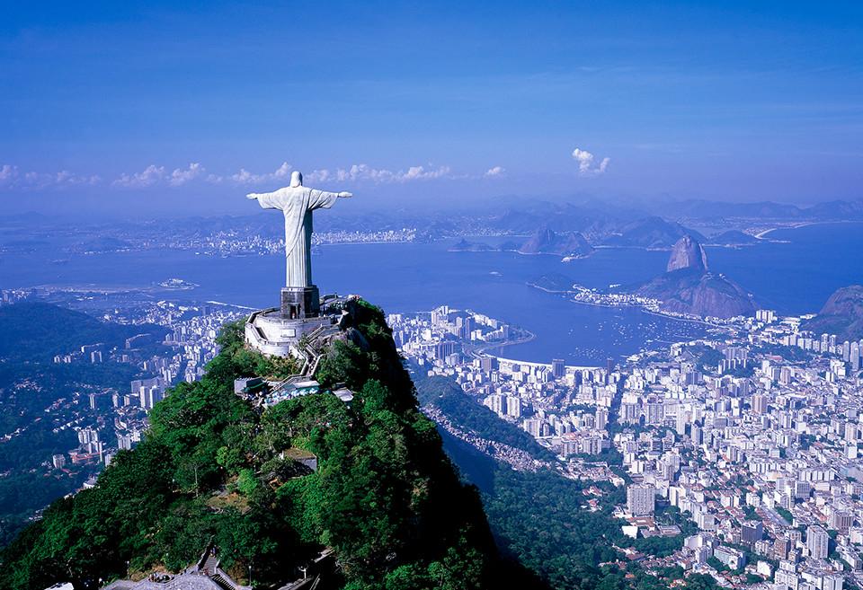 ブラジルの世界遺産・コルコバードの丘