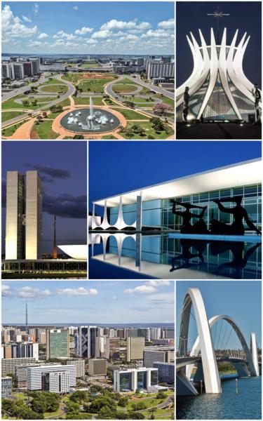 ブラジルの世界遺産・ブラジリア
