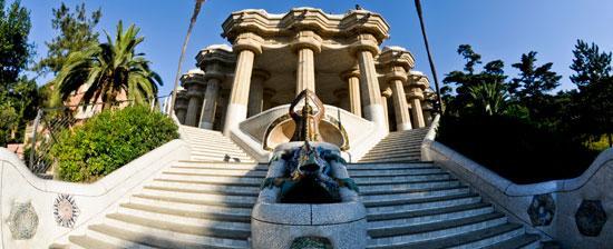 スペインの世界遺産・グエル公園