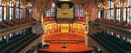 スペインの世界遺産・カタルーニャ音楽堂