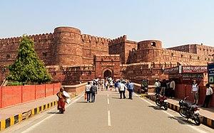 インドの世界遺産・アーグラー城