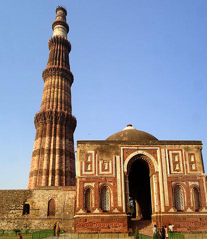 インドの世界遺産・クトゥブ ミナールとその建築物群