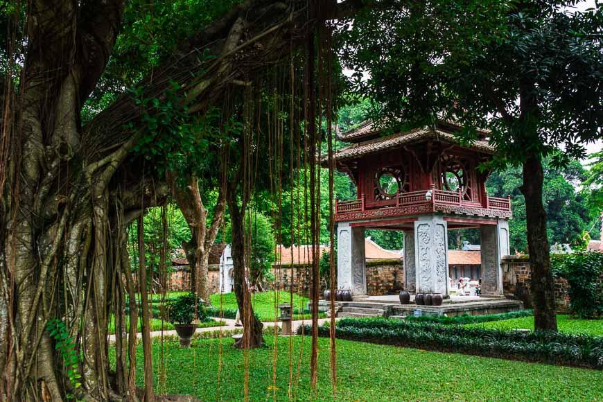 ベトナムの世界遺産・ハノイのタンロン皇城の中心区域