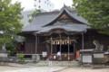 [長野県][松本市]四柱神社 拝殿