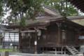 [長野県][松本市]筑摩神社 拝殿