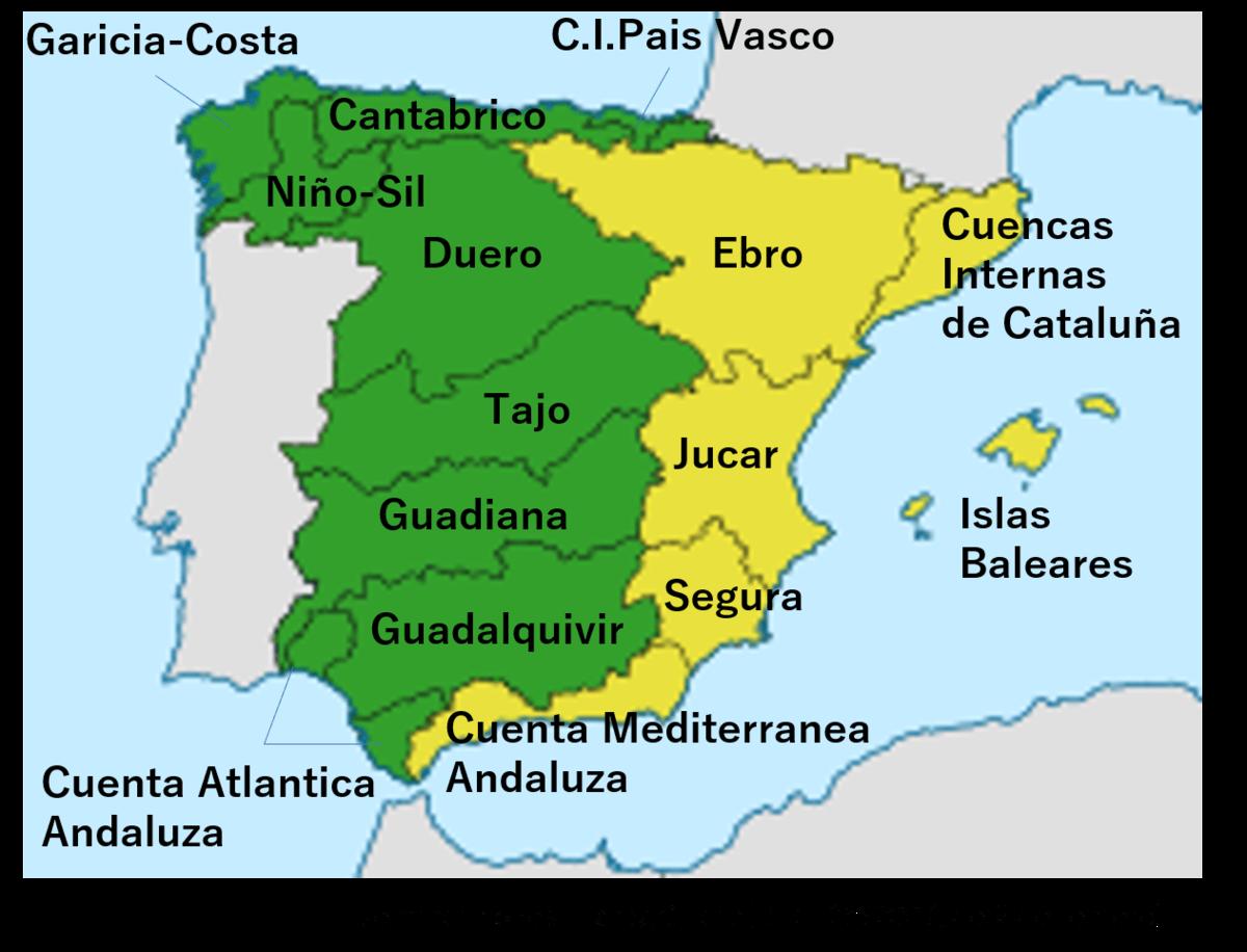 スペインの水路水域