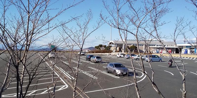 鳥羽展望台の駐車場
