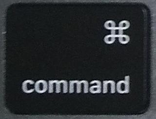 commandキーの画像