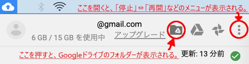 Mac google driveの使い方の画像