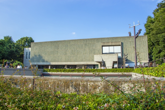 モダン建築 国立西洋美術館-Sの画像