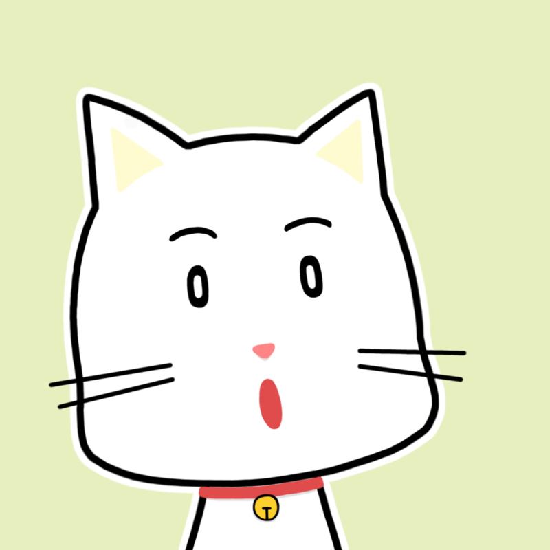 会話相手ネコ顔アイコン-納得N