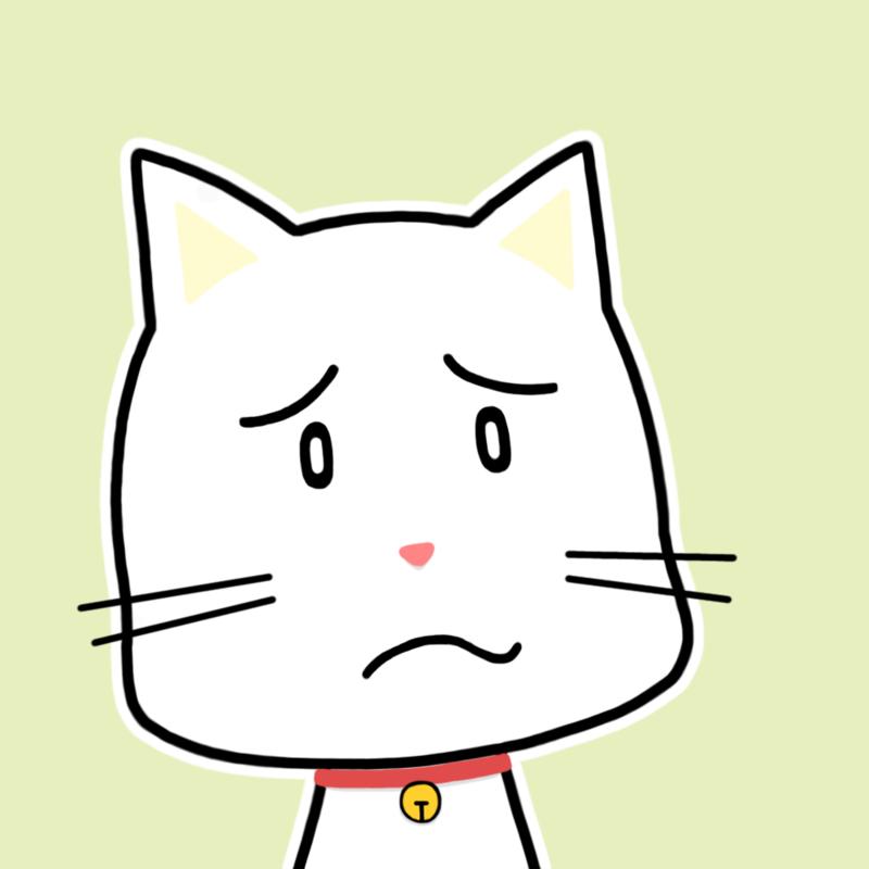 会話相手ネコ顔アイコン-疑問N