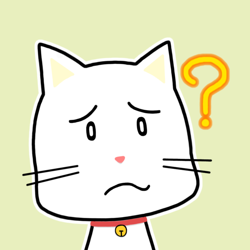 会話相手ネコ顔アイコン-疑問M